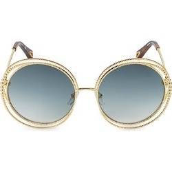 Chloé Women's Carlina Chain 58MM Round Sunglasses - Petrol found on MODAPINS from Saks Fifth Avenue for USD $475.00