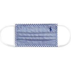 Polo Ralph Lauren Men's Polo Plaid Face Mask - Navy - Size Medium/Large found on Bargain Bro India from Saks Fifth Avenue for $20.00