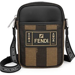 Fendi Men's Penguin Stripe Camera Bag - Brown found on Bargain Bro India from Saks Fifth Avenue for $890.00