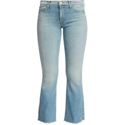 The Hustler High-Rise Ankle Fray Jeans found on Bargain Bro India from Saks Fifth Avenue AU for $174.54