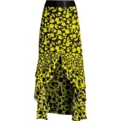 Sueann Silk Ruffle Midi Skirt found on Bargain Bro India from Saks Fifth Avenue AU for $515.04