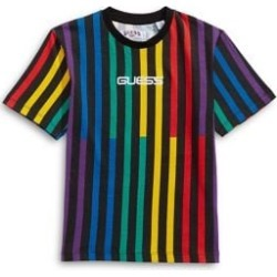 GUESS x J Balvin Kid's Vertical Stripes T-Shirt found on Bargain Bro India from The Bay for $32.00