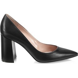 Piper Block-Heel Leather Pumps found on MODAPINS from Saks Fifth Avenue AU for USD $739.09