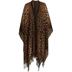 Leopard Poncho found on Bargain Bro UK from Saks Fifth Avenue UK