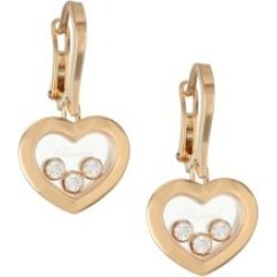 Happy Diamonds 18K Rose Gold & Diamond Earrings found on Bargain Bro India from Saks Fifth Avenue AU for $5212.14