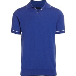 Saks Fifth Avenue Men's MODERN Short-Sleeve Tipping Polo - Blue Quartz - Size Medium found on Bargain Bro India from Saks Fifth Avenue for $148.00