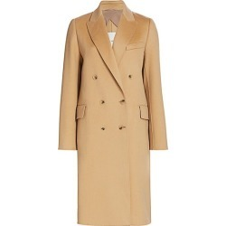 Double-Breasted Wool & Cashmere Coat