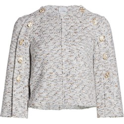 Binario Tweed Button Sleeve Jacket found on Bargain Bro Philippines from Saks Fifth Avenue Canada for $2000.19
