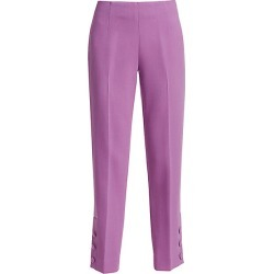 Lela Rose Women's Button Cuff Pants - Lavender - Size 10 found on MODAPINS from Saks Fifth Avenue for USD $316.00
