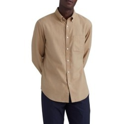 Slim-Fit Solid Flannel Shirt found on GamingScroll.com from The Bay for $38.96