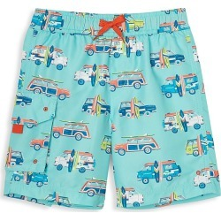 Hatley Little Boy's and Boy's Car Swim Trunks - Blue - Size 6 found on Bargain Bro India from Saks Fifth Avenue for $27.30