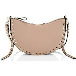 Valentino Garavani Women's Rockstud Leather Pouch Crossbody Bag - Poudre found on Bargain Bro Philippines from Saks Fifth Avenue for $1345.00