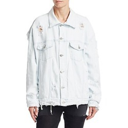 Alchemist Women's Manny Denim Jacket - Ice - Size XS found on MODAPINS from Saks Fifth Avenue for USD $980.00