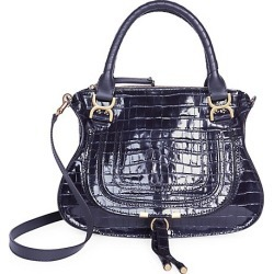 Medium Marcie Croc-Embossed Leather Satchel found on Bargain Bro India from Saks Fifth Avenue AU for $2391.16