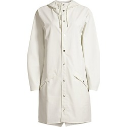 Long Hooded Raincoat found on MODAPINS from Saks Fifth Avenue for USD $125.00