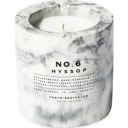 Photogenics+Co No.6 Hyssop Concrete Candle