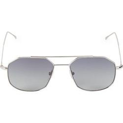 Illesteva Women's 53MM Montevideo Aviator Sunglasses - Silver found on MODAPINS from Saks Fifth Avenue for USD $195.00