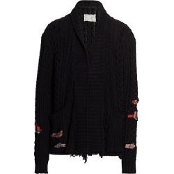 Greg Lauren Men's Fisherman Knit Kimono Cardigan - Black - Size 3 (Large) found on MODAPINS from Saks Fifth Avenue for USD $2500.00