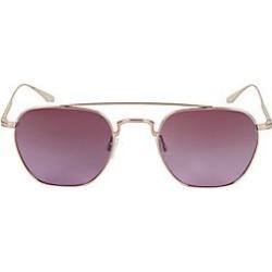 Barton Perreira Men's Doyen 52MM Aviator Sunglasses - Pink found on MODAPINS from LinkShare USA for USD $490.00