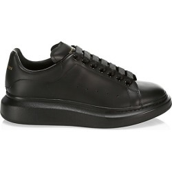 Alexander McQueen Men's Men's Oversized Leather Platform Sneakers - Black - Size 45 (12) found on MODAPINS from Saks Fifth Avenue for USD $540.00