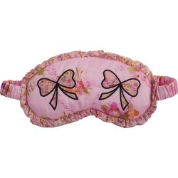 Morgan Lane Women's LoveShackFancy x Morgan Lane Floral Bow Eye Mask - Bayberry found on MODAPINS from Saks Fifth Avenue for USD $98.00