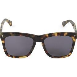 Illesteva Women's 55MM Los Feliz Tortoise Square Sunglasses - Tortoise found on MODAPINS from Saks Fifth Avenue for USD $220.00