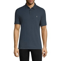 John Varvatos Star U.S.A. Men's Peace Logo Polo - Oiled Blue - Size Medium found on Bargain Bro Philippines from Saks Fifth Avenue for $68.00