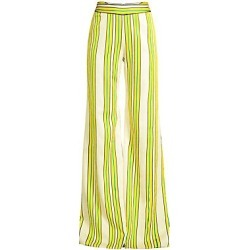 Alexis Women's Tarik Wide-Leg Trousers - Tuscan Stripe - Size Large found on MODAPINS from Saks Fifth Avenue for USD $425.00