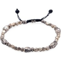 Hells Kitchen Sterling Silver Skull & Beaded Bracelet found on Bargain Bro India from Saks Fifth Avenue Canada for $343.18