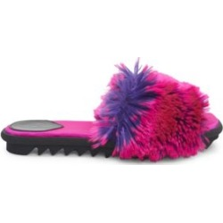 Faux-Fur Slides found on Bargain Bro UK from Saks Fifth Avenue UK for $500.43