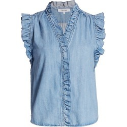 Frame Women's Lauren Chambray Top - Farrah - Size XS found on Bargain Bro India from Saks Fifth Avenue for $288.00