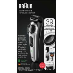 Braun Beard Trimmer & Hair Clipper Kit
