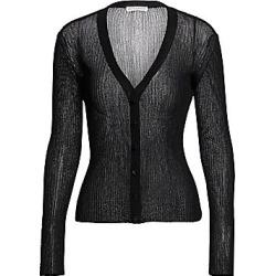 Altuzarra Women's Jackson Lurex Knit Cardigan - Black - Size XS found on MODAPINS from Saks Fifth Avenue for USD $795.00