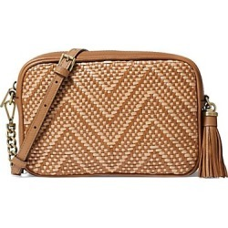 MICHAEL Michael Kors Women's Medium Woven Camera Bag - Tan found on Bargain Bro India from Saks Fifth Avenue for $99.20