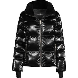Nicole Benisti Women's Kensington Shearling-Lined Puffer Jacket - Black - Size Small found on MODAPINS from Saks Fifth Avenue for USD $990.00