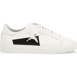 Axel Arigato Men's Clean 90 Taped Bird Leather Low-Top Sneakers - White Black - Size 44 (10.5) found on MODAPINS from Saks Fifth Avenue for USD $265.00