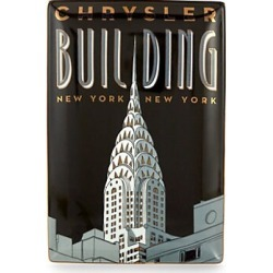Chrysler Building Ceramic Tray found on Bargain Bro Philippines from Saks Fifth Avenue OFF 5TH for $23.99
