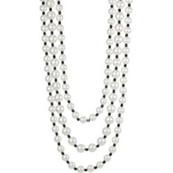 Multirow Jet Bead Necklace found on Bargain Bro India from Saks Fifth Avenue Canada for $182.33