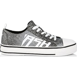 Ash Women's Vanda Glitter Canvas Sneakers - Grey Glitter - Size 39 (9) found on MODAPINS from Saks Fifth Avenue for USD $165.00