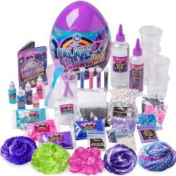 GirlZone Kid's Galaxy Slime Kit - Purple