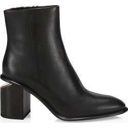 Alexander Wang Women's Anna Rose Gold & Leather Ankle Boots - Black - Size 40 (10) found on MODAPINS from Saks Fifth Avenue for USD $486.50