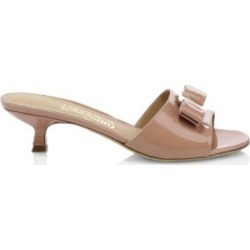 Ginostra Patent Leather Kitten Heel Slides found on Bargain Bro India from Saks Fifth Avenue Canada for $622.06