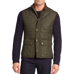 Barbour Men's Lowerdale Quilted Vest - Dark Green - Size XL found on MODAPINS from Saks Fifth Avenue for USD $180.00