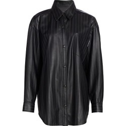 Oversized Leather Shirt found on Bargain Bro from Saks Fifth Avenue Canada for USD $1,358.38