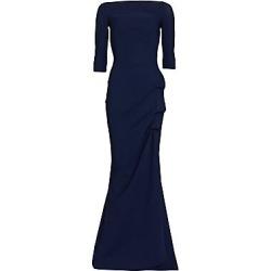 Chiara Boni La Petite Robe Women's Kate Slit-Detail Boatneck Gown - Blue Notte - Size 48 (12) found on Bargain Bro India from LinkShare USA for $995.00