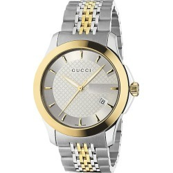 Gucci Men's G-Timeless Collection Watch/Stainless Steel & Gold PVD - Stainless Steel found on MODAPINS from Saks Fifth Avenue for USD $1025.00