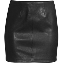 Hannon Leather Mini Skirt found on Bargain Bro India from Saks Fifth Avenue AU for $584.07