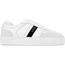 Axel Arigato Men's Detailed Platform Mix Media Leather Platfrom Sneakers - White Black - Size 41 (8) found on MODAPINS from Saks Fifth Avenue for USD $235.00