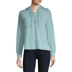 Lace-Up Hoodie found on MODAPINS from Saks Fifth Avenue for USD $46.02