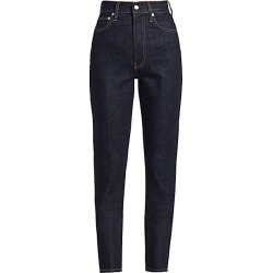 Helmut Lang Women's Spike High-Waisted Jeans - Dark Rinse Indigo - Size 31 (10) found on MODAPINS from Saks Fifth Avenue for USD $290.00